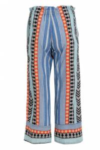 Pants Blue/Orange