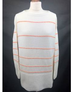 Pullover Off-White/Orange