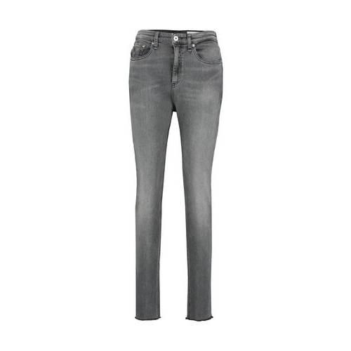 Nina High Rise Skinny Jeans Grey