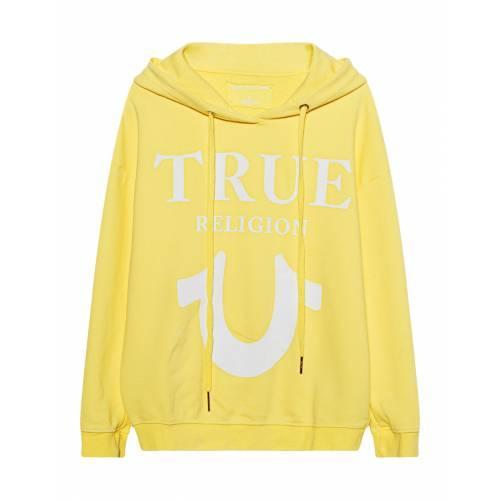 TRUE RELIGION Oversize Cosy Yellow