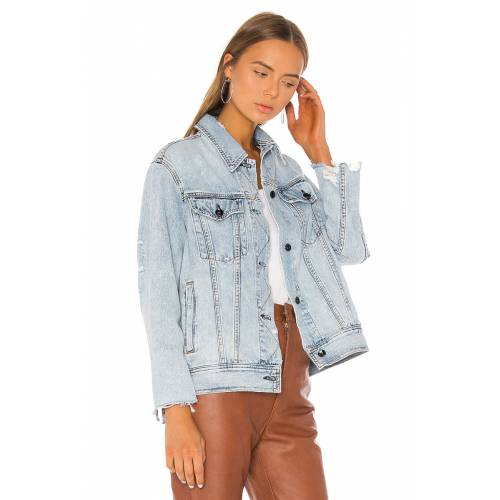 Olson Oversized Denim  Jacket