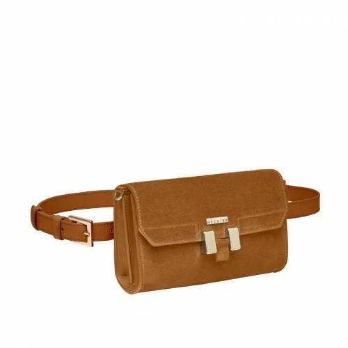 Carrie Belt Bag Brown