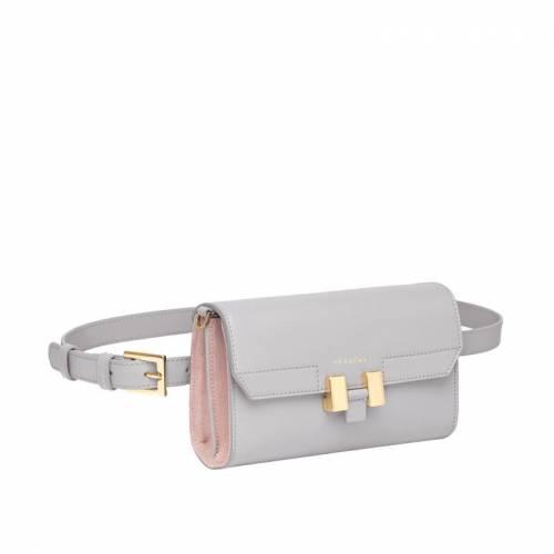 Carrie Belt Bag Grau
