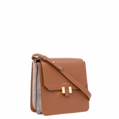 Tilda Bag Cognac Grey