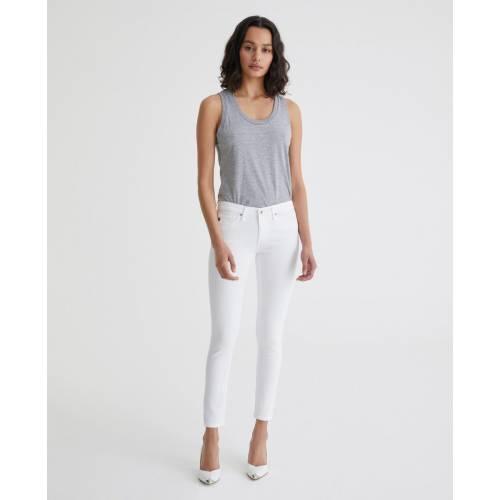 The Legging Ankle Super Skinny Jeans white