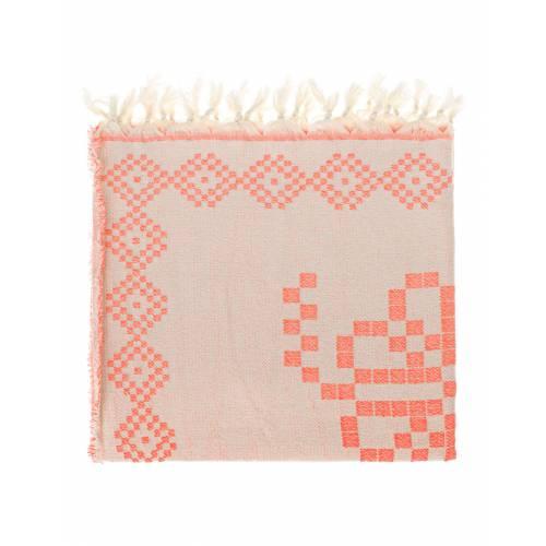 DEVOTION TWINS Towel Pink/Orange